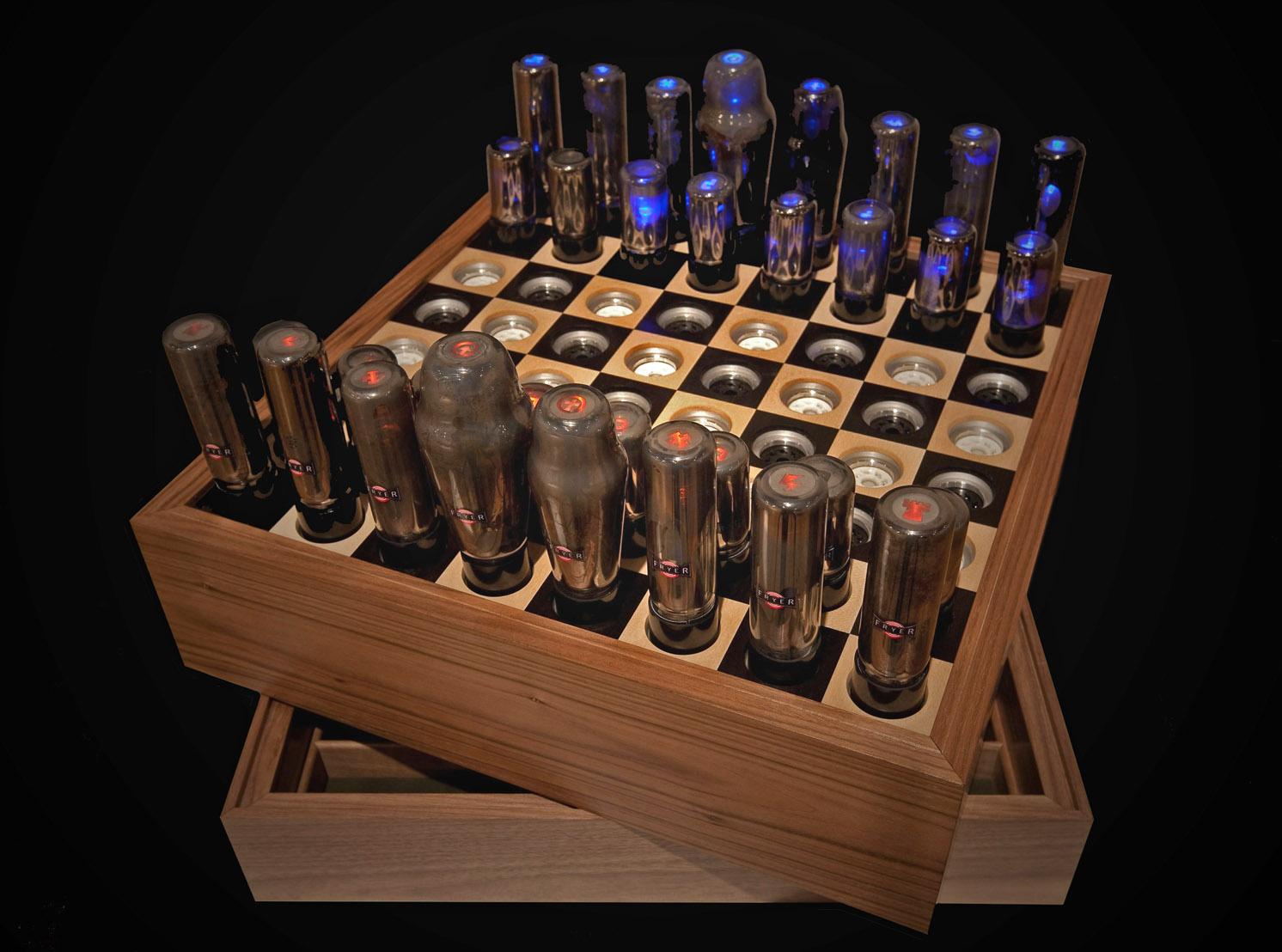 Chess Set For Tesla 2009