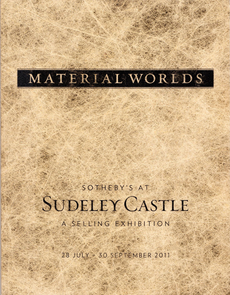 Material Worlds, Sudeley Castle